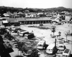 昭和26年 駅前