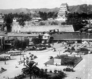 昭和41年 駅前